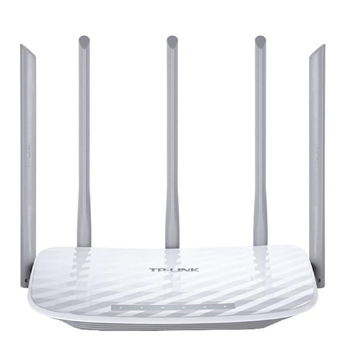 Roteador Wireless TP-Link Archer C60 AC1350 Dual Band (2.4GHz/5GHz) 10/100Mbps, 5 Antenas