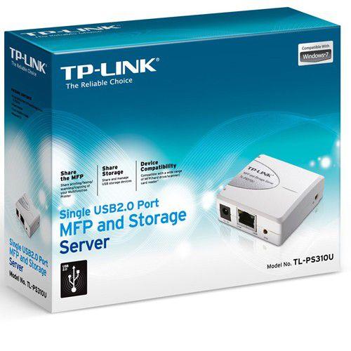 Servidor de Impressão TP-Link TL-PS310U