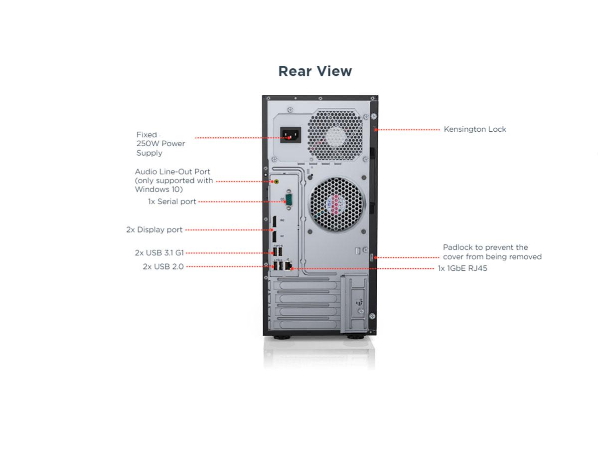 Servidor Lenovo Dcg ST50 E-2104G 1tb/8gb - 7Y48A00LBR