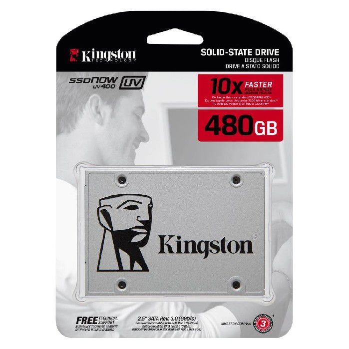 SSD 480Gb Kingston UV400 SUV400S37/480GB