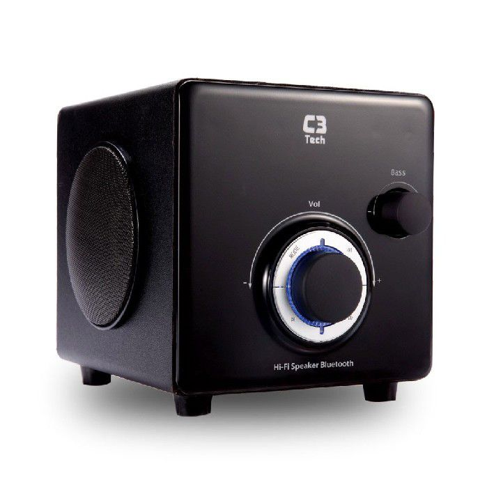 Subwoofer C3TECH 2.1 Bluetooth e Radio