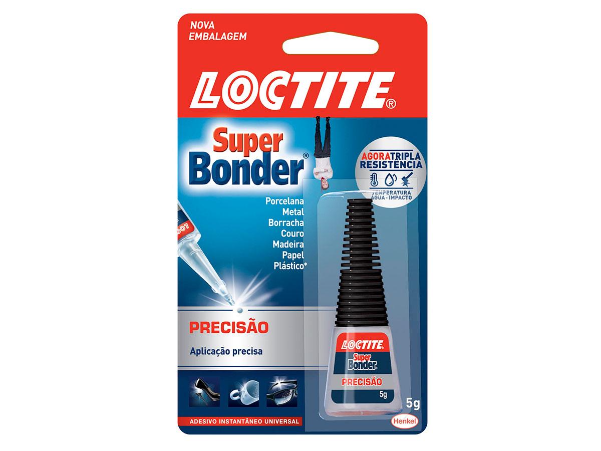 Super Bonder Precisão, 5 g, Contém 24 Unidades, Locatite - 2082699