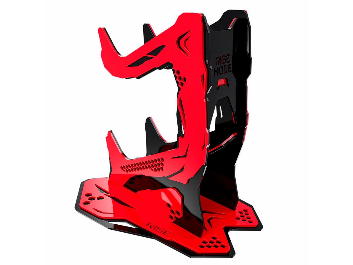 Suporte Controle Rise Mode Venon V3 - Preto e Vermelho RM-SC-02-BR
