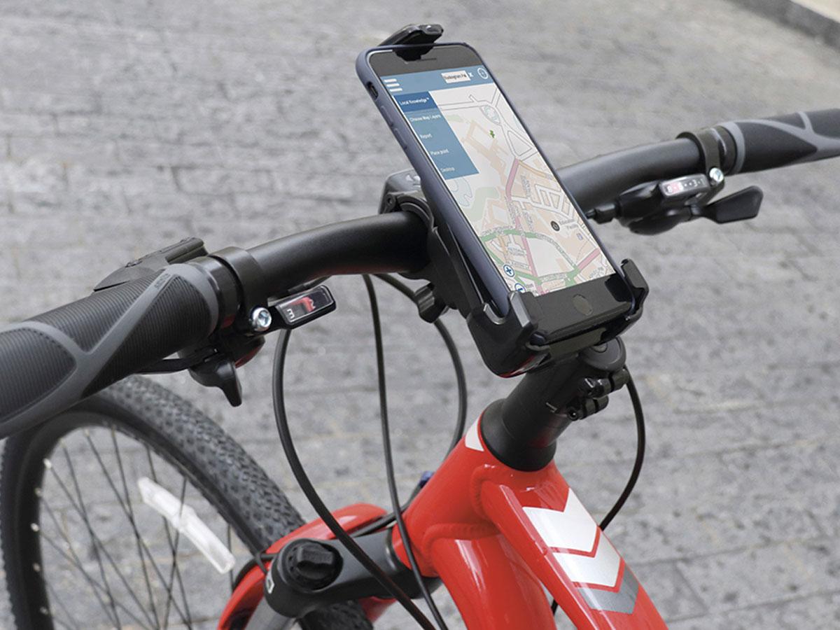 Suporte de Guidão Newlink Ajustável P/smartphone P/bicicletas e Motos SB100