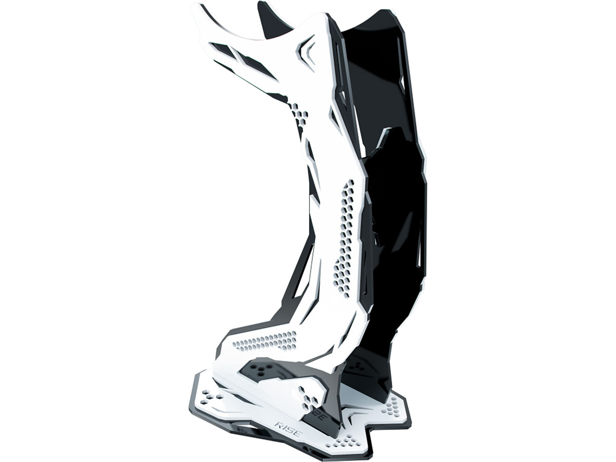Suporte Headset Rise Mode Gamer Venon Pro V3 - Preto e Branco RM-VN-05-BW