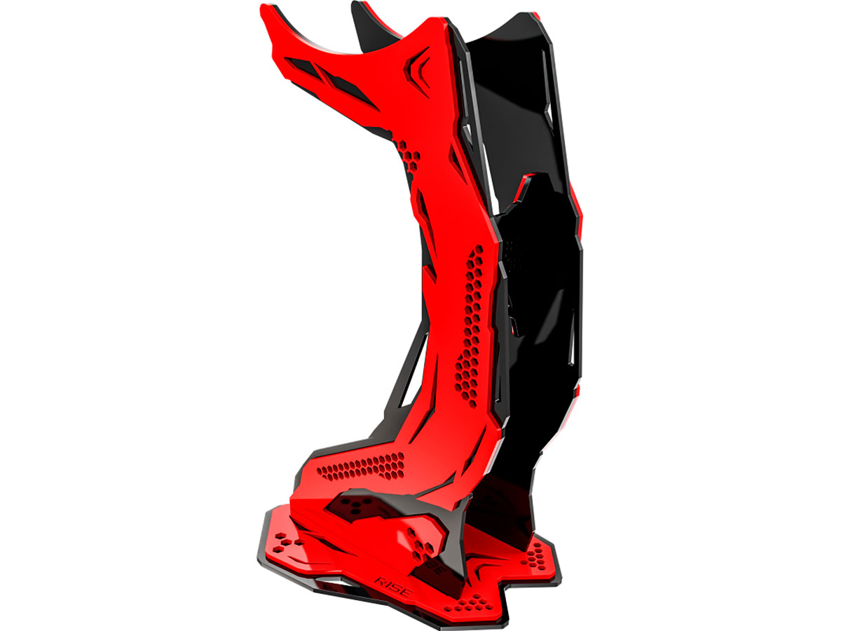 Suporte Headset Rise Mode Gamer Venon Pro V3 - Preto e Vermelho RM-VN-05-BR