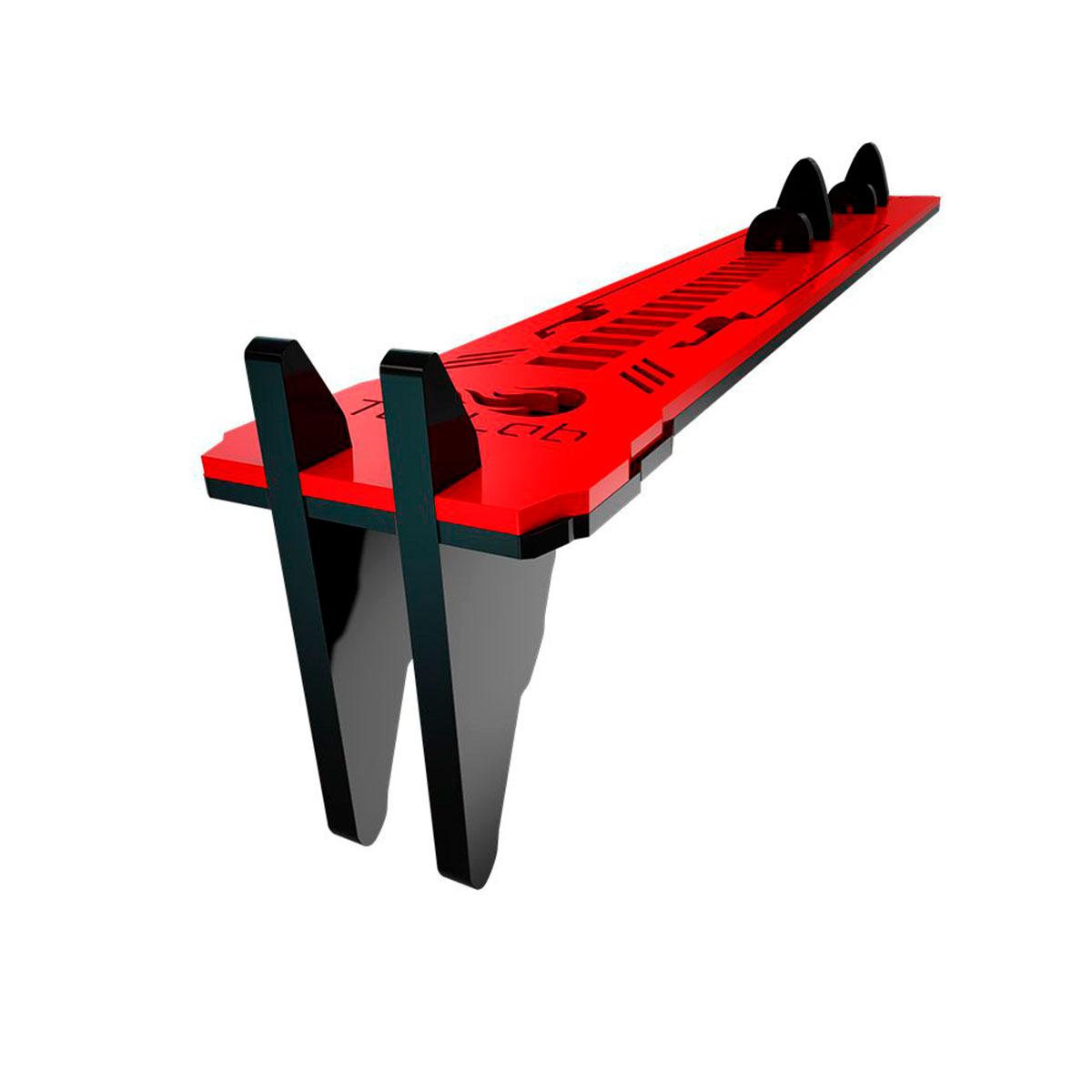 Suporte para Placa de Vídeo Rise Mode TecLab Edition Preto e Vermelho - RM-SV-05-BR