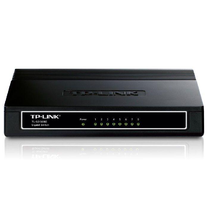 Switch 8 portas 10/100/1000 TP-Link TL-SG1008D
