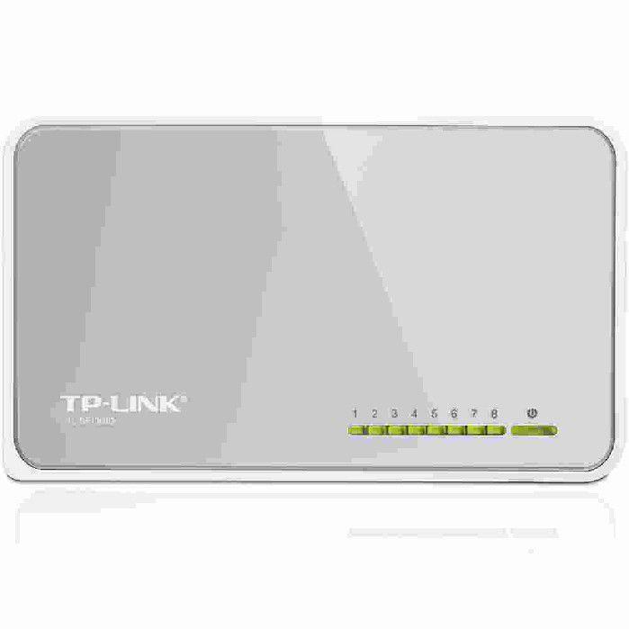 Switch de mesa de 8 portas de 10/100Mbps TL-SF1008D TP-Link