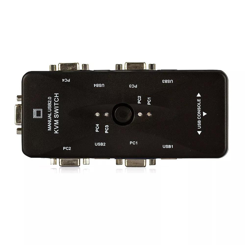 Switch KVM GV 04 Portas VGA - KVM.04P