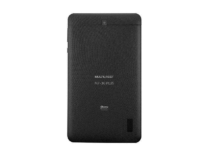 "Tablet Multilaser M7 3G Plus Dual Chip Quad Core 1GB de Ram/16 GB/Tela 7""/Preto - NB304"