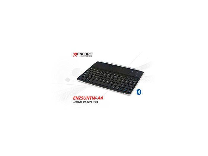 Teclado Bluetooth P/ipad Encore Enzsuntw-a4 Preto