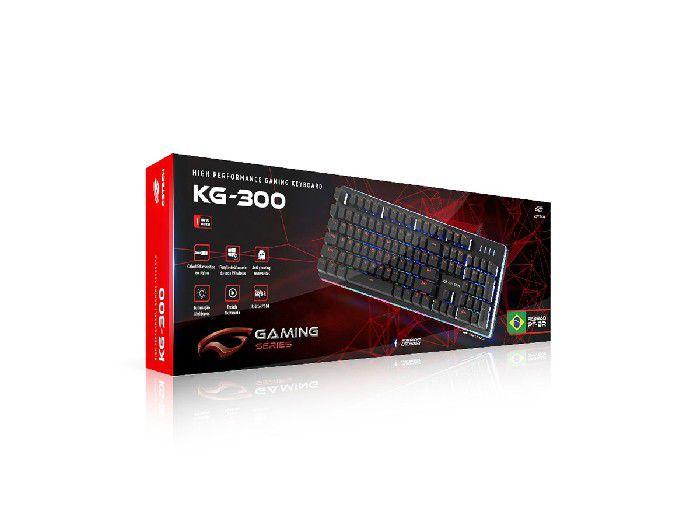 Teclado C3tech Gamer USB KG-300BK