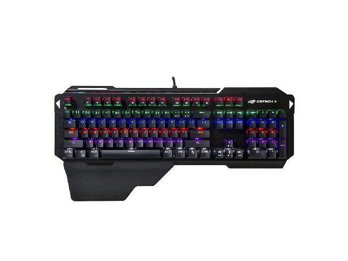 Teclado C3Tech Gamer USB Mecânico KGM-1100BK