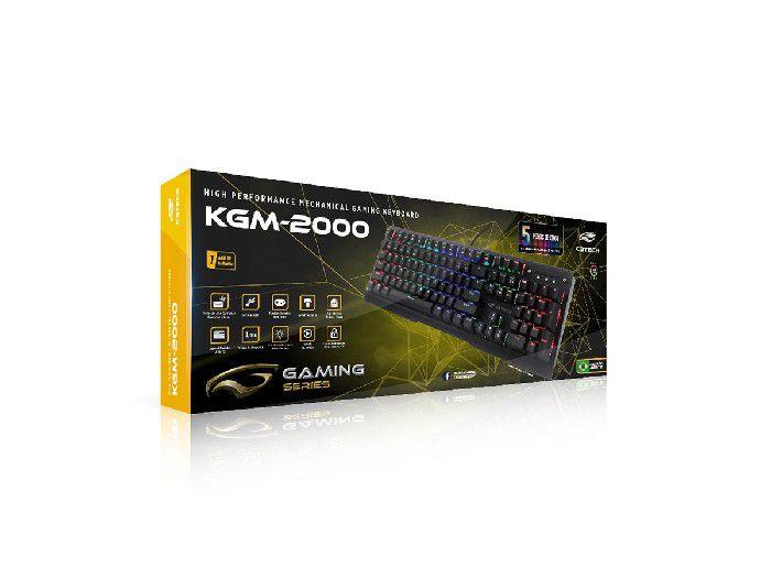 Teclado Gamer C3tech USB KGM-2000BK
