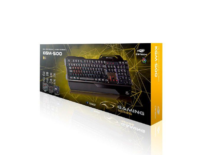 Teclado Gamer C3tech Usb Kgm-500bk