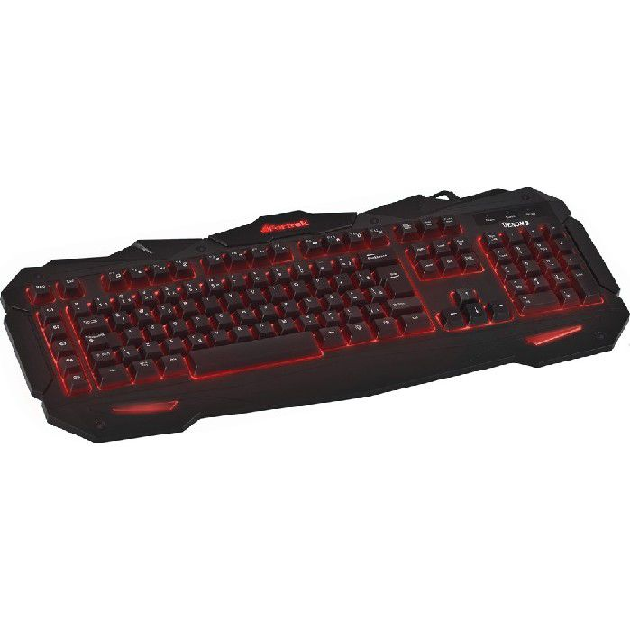 Teclado Gamer Spider Com Led GK705 59514 Fortrek