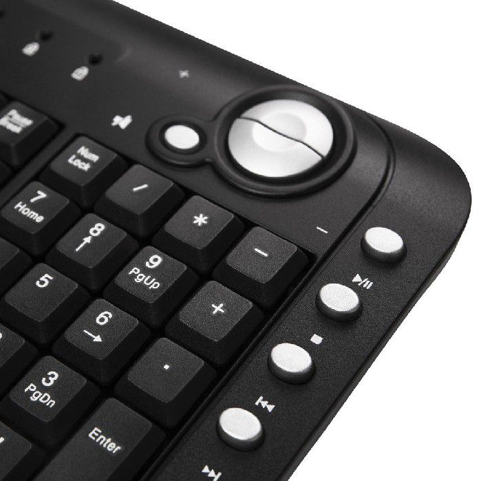 Teclado Multimídia Spinn USB Preto TM500