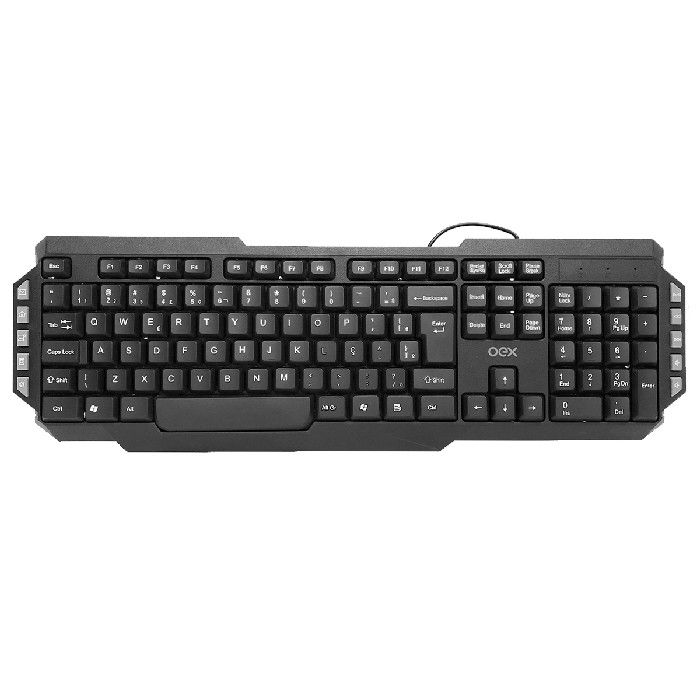 Teclado Multimídia USB OEX Multiwork TC103