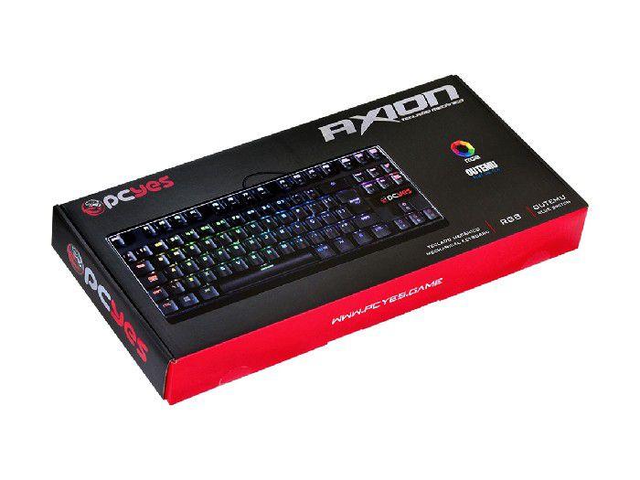 Teclado Pcyes Gamer Axion Rgb