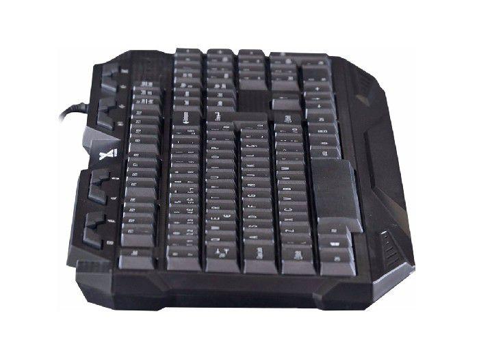 Teclado Vinik Gamer USB VX LED FENIX Preto 25369