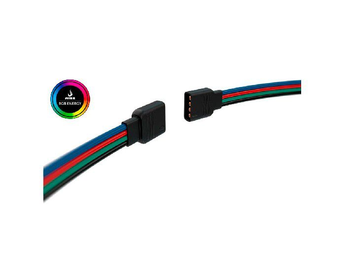 Tira de LED Rise Mode Potência 5050 Pc 1,25m - RGB Motherboard RM-TL-03-RGB