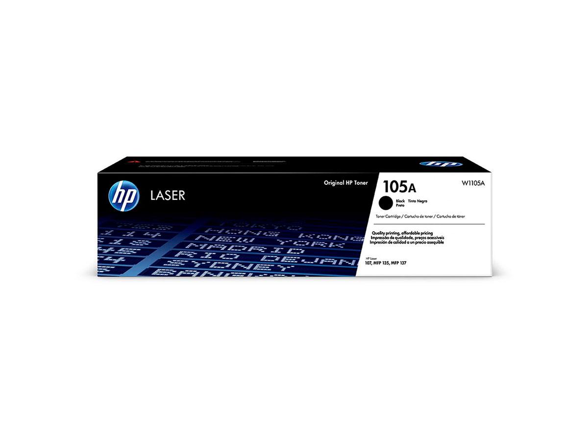 Toner HP W1105A 105A Preto