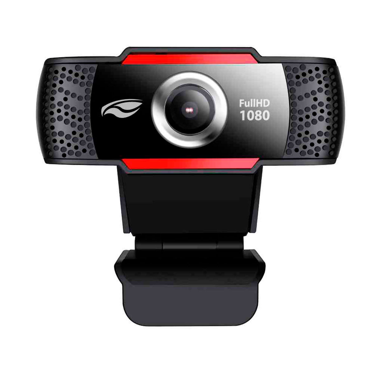 WebCam C3Tech WB-100BK, Resolução Full HD 1080p, USB 2.0, 2 MP, 30 FPS, Microfone Embutido