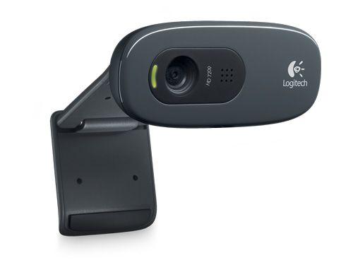 WEBCAM LOGITECH HD 720P C270 GRAFITE