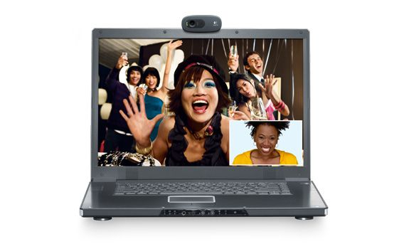 WEBCAM LOGITECH HD 720P C270 GRAFITE