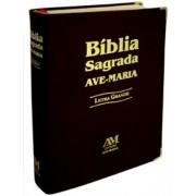 Bíblia de Letra Grande - Média Capa Preta