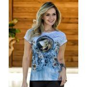 Camiseta Baby-look Santa Rita de Cássia