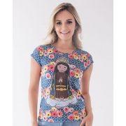 Camiseta Nossa Senhora Aparecida Baby-look
