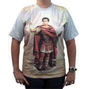 Camiseta Santo Expedito marca Ágape