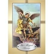 Santinho com Oração de São Miguel