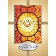 Santinho com Oração Divino Espírito Santo