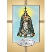 Santinho com Oração Nossa Senhora da Abadia