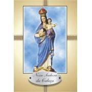 Santinho com Oração Nossa Senhora da Cabeça