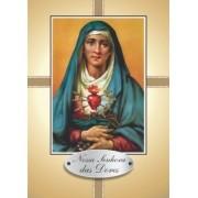 Santinho com Oração Nossa Senhora das Dores