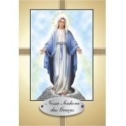 Santinho com Oração Nossa Senhora das Graças