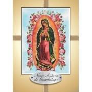 Santinho com Oração Nossa Senhora de Guadalupe