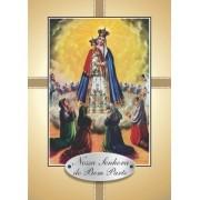 Santinho com Oração Nossa Senhora do Bom Parto