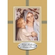 Santinho com Oração Nossa Senhora do Divino Pranto