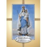 Santinho com Oração Nossa Senhora do Livramento