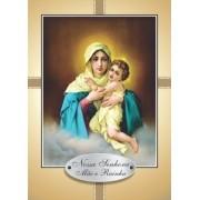 Santinho com Oração Nossa Senhora Mãe e Rainha