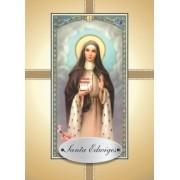 Santinho com Oração Santa Edwiges