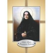 Santinho com Oração Santa Madre Francisca Cabrini