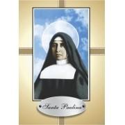 Santinho com Oração Santa Paulina