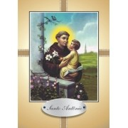 Santinho com Oração Santo Antônio para Namorados
