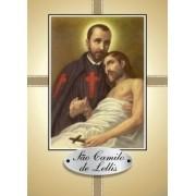 Santinho com Oração São Camilo de Léllis